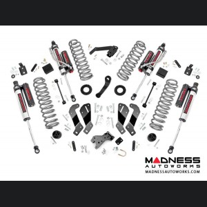 "Jeep Wrangler JK Suspension Lift Kit w/Control Arm Drops & Vertex Reservoir Shocks - 3.5"" Lift"